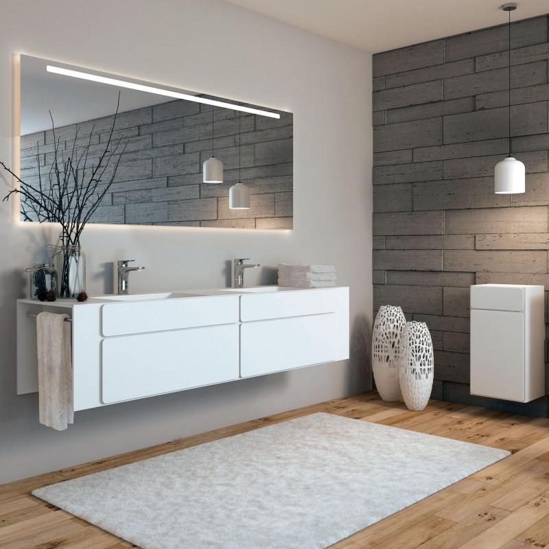 Badmöbel weiss lackiert von ,talsee, Partner von hp. mülller ag schreinerei, küche bad wohnen, massgeschreinertes bad, Ihr Bad-Planer in St.Gallen