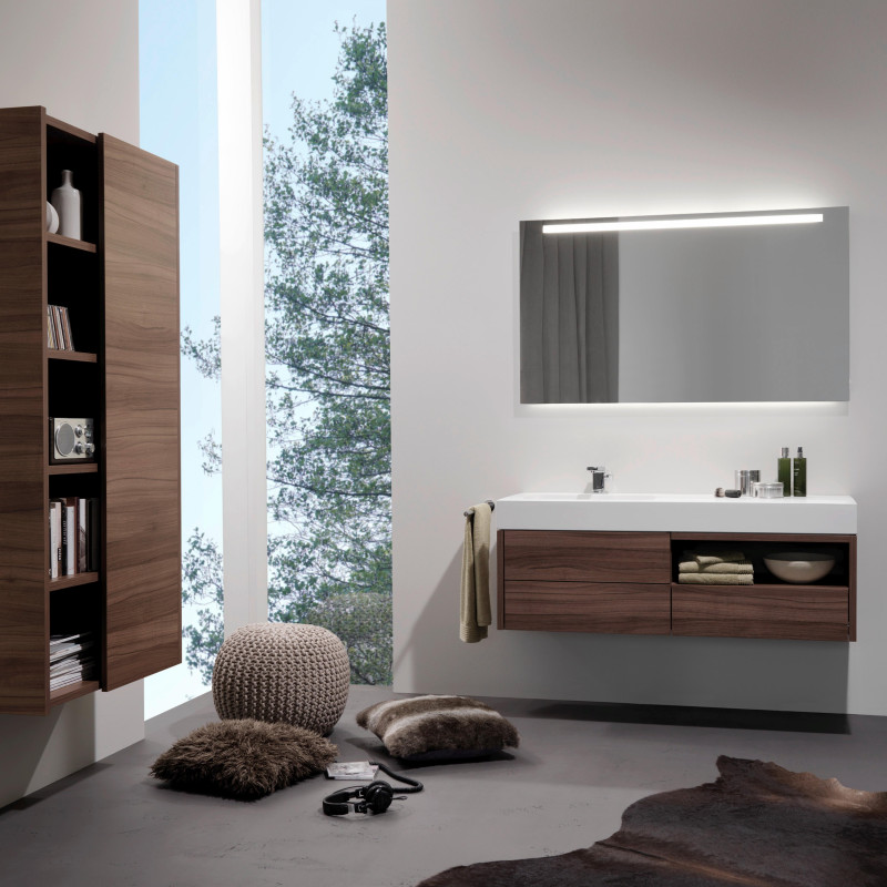 Badmöbel mit freistehendem Schrank von ,talsee, Partner von hp. mülller ag schreinerei, küche bad wohnen, massgeschreinertes bad, Ihr Bad-Planer in St.Gallen