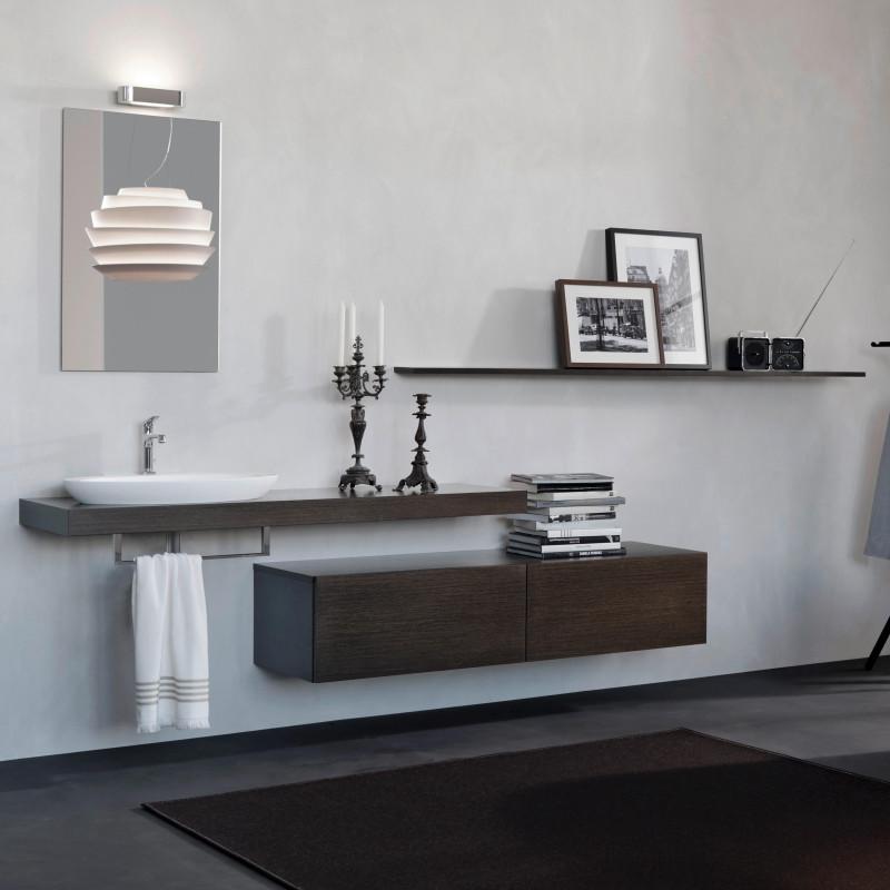 Badmöbel mit freistehenden Tablaren von ,talsee, Partner von hp. mülller ag schreinerei, küche bad wohnen, massgeschreinertes bad, Ihr Bad-Planer in St.Gallen